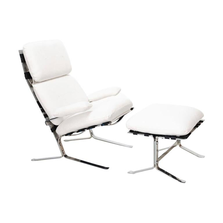 """Olivier Mourgue, Lounge Chair """"Suede"""", France, 1970"""
