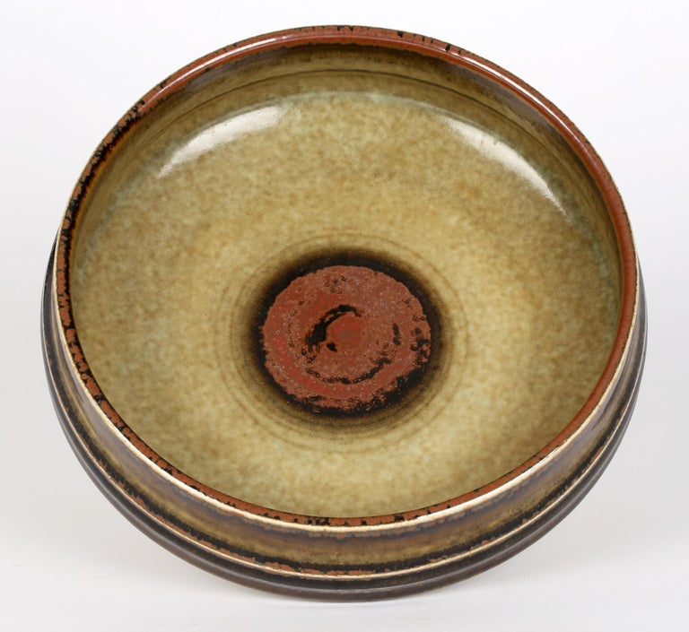 Olle Alberius for Rorstrand Mid-Century Studio Pottery Bowl For Sale 4