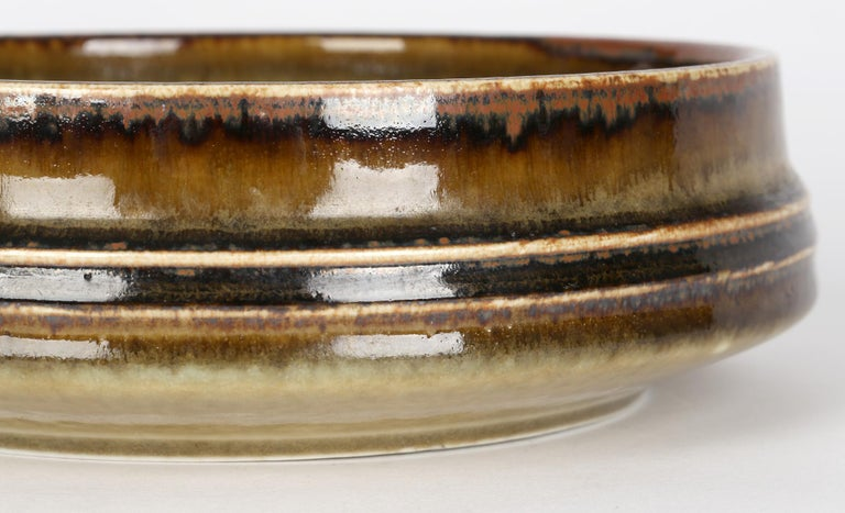 Olle Alberius for Rorstrand Mid-Century Studio Pottery Bowl For Sale 5