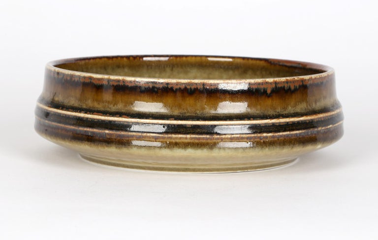 Olle Alberius for Rorstrand Mid-Century Studio Pottery Bowl For Sale 6
