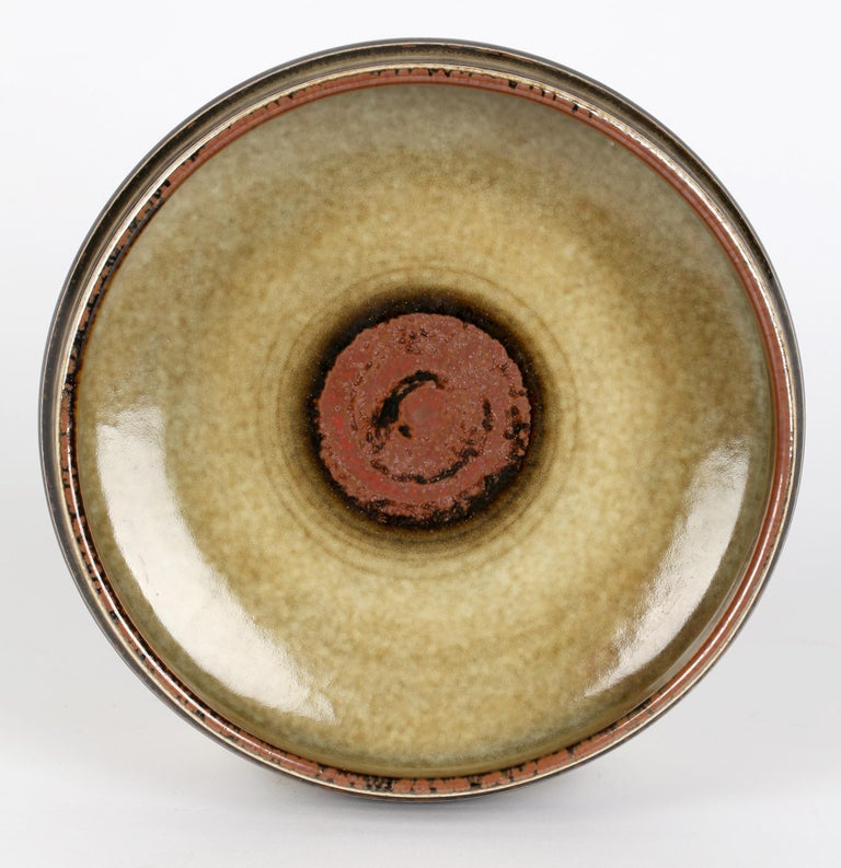 Olle Alberius for Rorstrand Mid-Century Studio Pottery Bowl For Sale 10