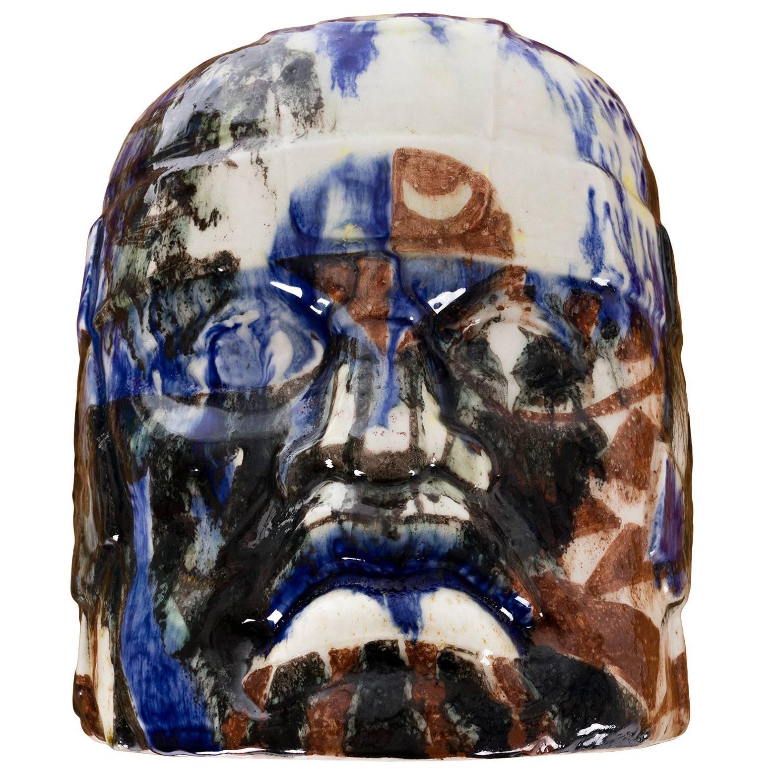 Olmec Head by Eric Ledoux