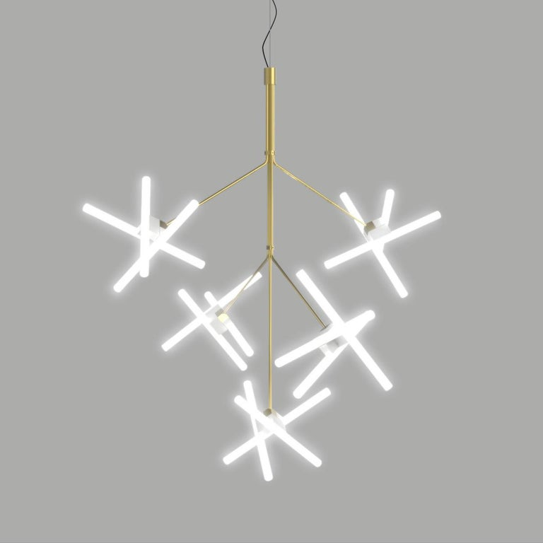 Olvidada chandelier lamp designed by Pepe Cortes.