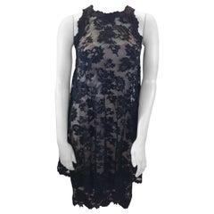 Olvi's Black Lace Dress