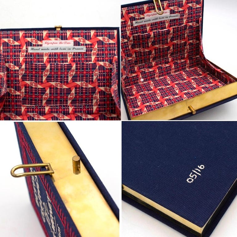 Olympia Le Tan 'Better Clothes For Your Money' Book Clutch For Sale 1