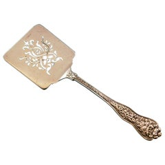 Olympian by Tiffany and Co Sterling Silver Waffle Server Pierced Vintage
