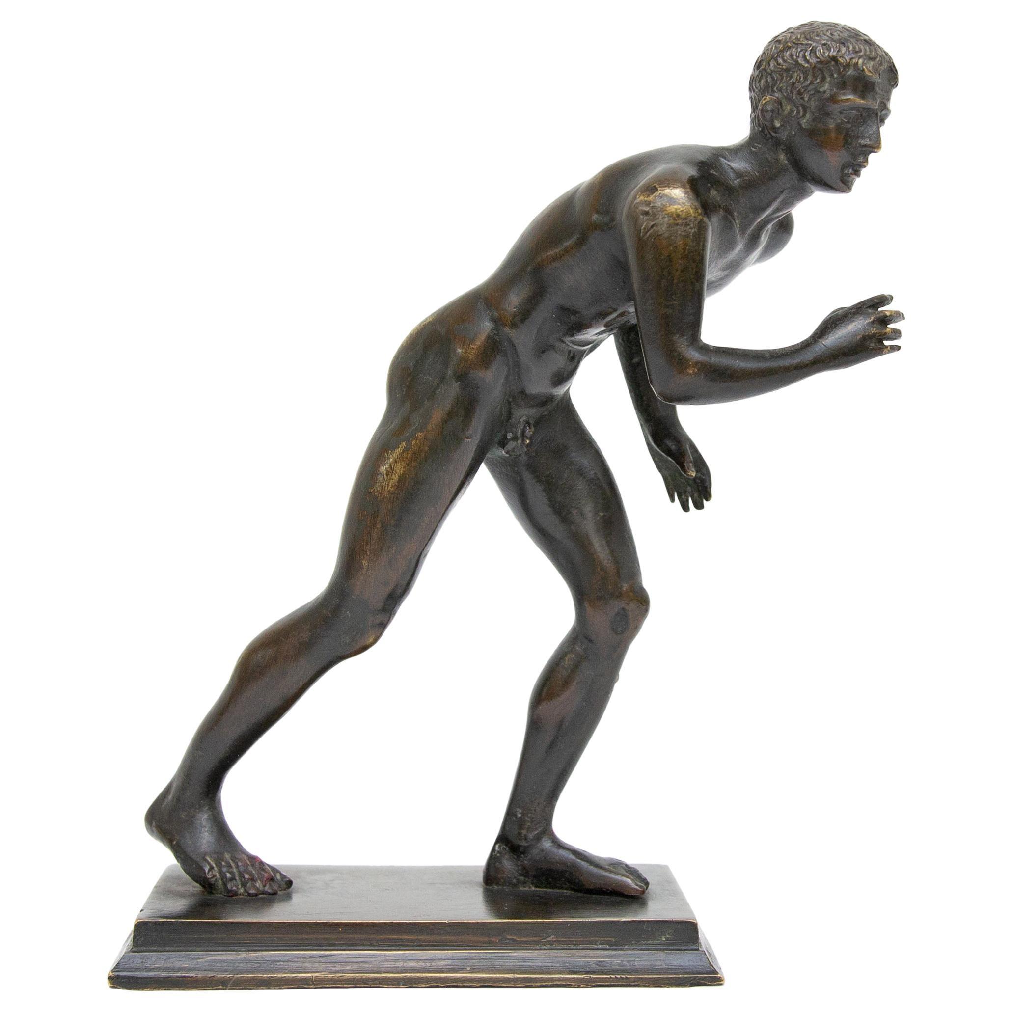 Olympic Runner Bronze Grand Tour Sculpture