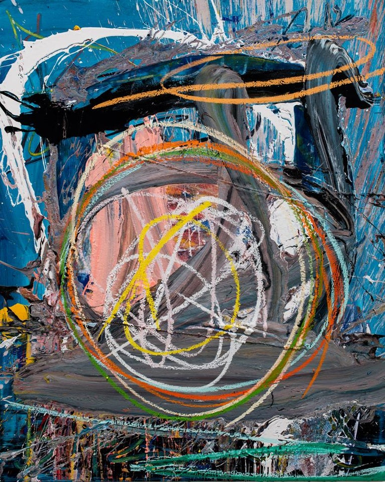 Olympio Abstract Painting - Untitled (5)