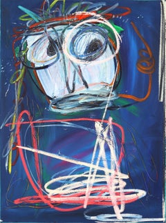 Untitled Blue Face 1