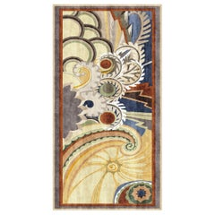 Olympus - Designer Contemporary Hand Knotted Wool Silk Rug