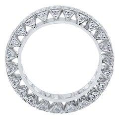 Olympus Art Certified 1.80 Carat Platinium 950 Diamond Ring