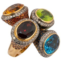 Olympus Art Certified, Ottoman Style 4 Color Ring