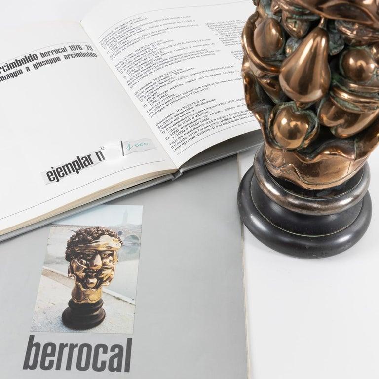 Omaggio ad Arcimboldo, Miguel Ortiz Berrocal, 'Spain' For Sale 6