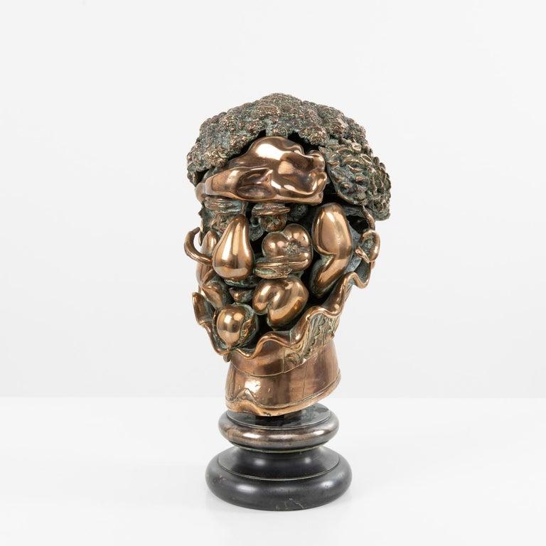 Mid-Century Modern Omaggio ad Arcimboldo, Miguel Ortiz Berrocal, 'Spain' For Sale