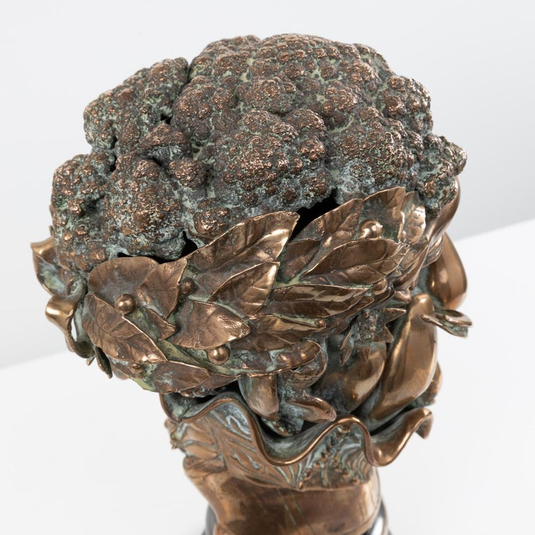 Omaggio ad Arcimboldo, Miguel Ortiz Berrocal, 'Spain' In Good Condition For Sale In Brussels, BE