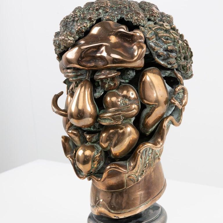 Late 20th Century Omaggio ad Arcimboldo, Miguel Ortiz Berrocal, 'Spain' For Sale