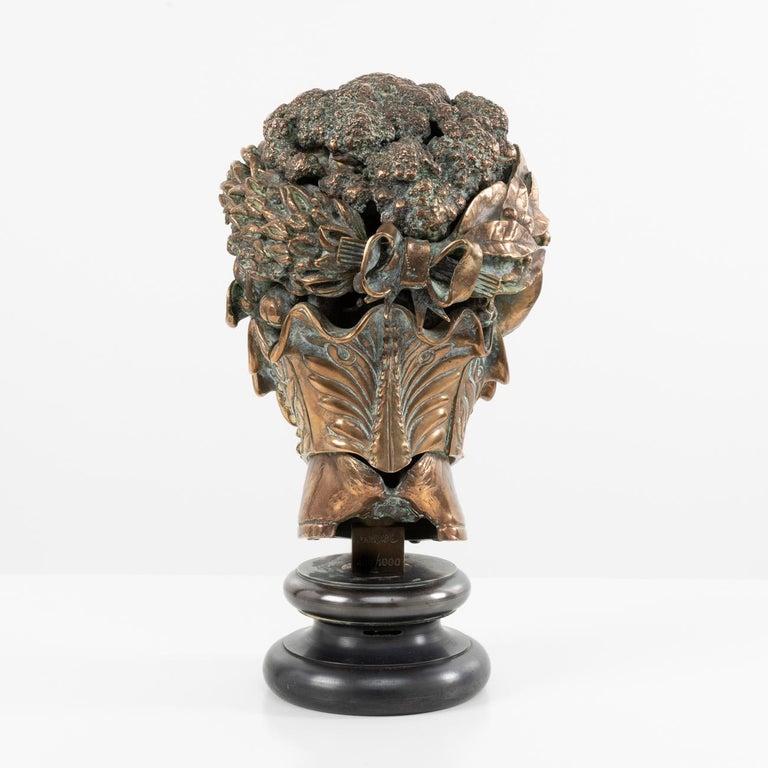 Bronze Omaggio ad Arcimboldo, Miguel Ortiz Berrocal, 'Spain' For Sale
