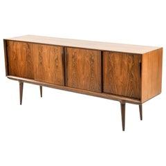 Oman Jr. Danish Midcentury Rosewood Sideboard