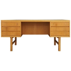 Omann Jun Ash Desk 1960s Vintage Danish Design