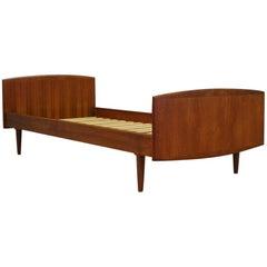 Omann Jun Bed Teak 1960-1970 Danish Design
