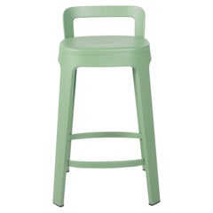 Ombra Stool Counter With Backrest