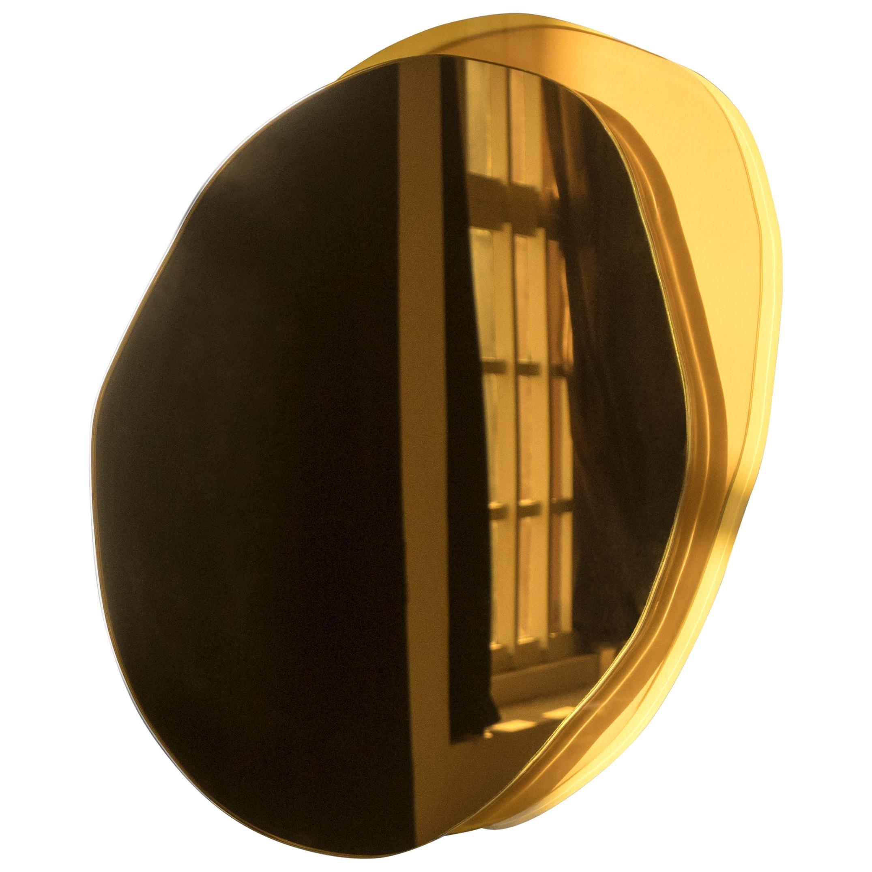 Ombrée Small Hand-Sculpted  Mirror, Laurene Guarneri