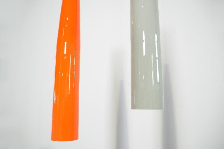 Ombrello Murano Glass Pendant by Alessandro Pianon for Vistosi For Sale 3