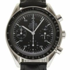 Omega 175.0032.1 Speedmaster Chronograph Stahl Schwarzes Ziffernblatt 2 Jahre Garantie #224-3