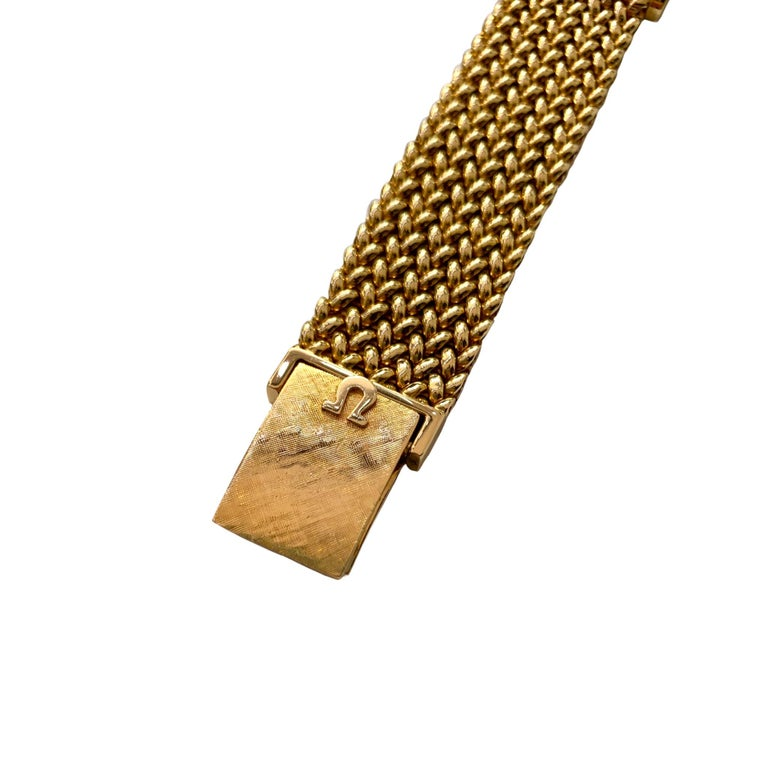 Omega 18 Karat Yellow Gold Men's Watch 1
