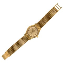 Omega 18 Karat Yellow Gold Men's Watch
