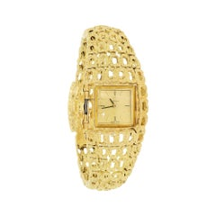 Omega 1964 Arabesque d'Or Watch Fine 18K Solid Gold Bracelet, Gilbert Albert