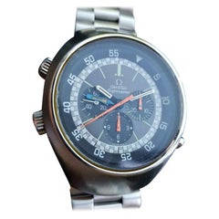Omega 1971 Flightmaster Vintage Chronograph Stainless Steel Watch LV286
