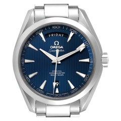 Omega Aqua Terra 150m Co-Axial Mens Watch 231.13.42.22.03.001 Box Card