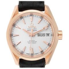 Omega Aqua Terra Annual Calendar Rose Gold Watch 231.53.39.22.02.001 Unworn