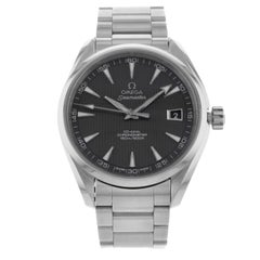 Omega Aqua Terra Grey Dial Steel Automatic Watch 231.10.42.21.06.001 Unworn Box