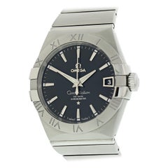 Omega Constellation 123.10.38.21.01.001 Men's Watch Box Papers