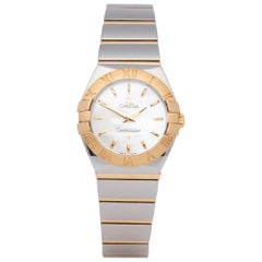 Omega Constellation 123.20.24.60.05.002 Ladies Stainless Steel and Yellow Gold