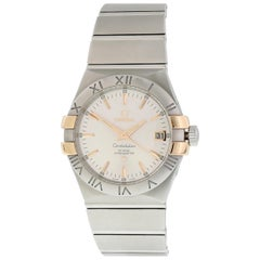 Omega Constellation 123.20.35.20.02.003 Co-Axial Men's Watch Box and Papers