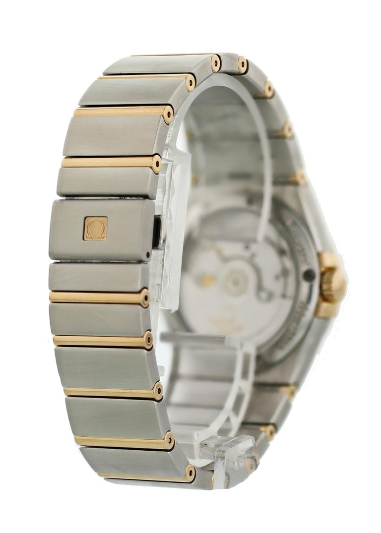 Omega Constellation 123.20.38.21.63.001 Co-Axial Chronometer Men's Watch For Sale 1