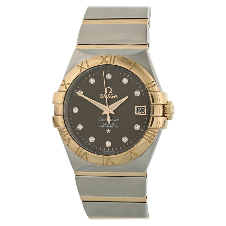 Omega Constellation 123.20.38.21.63.001 Co-Axial Chronometer Men's Watch For Sale