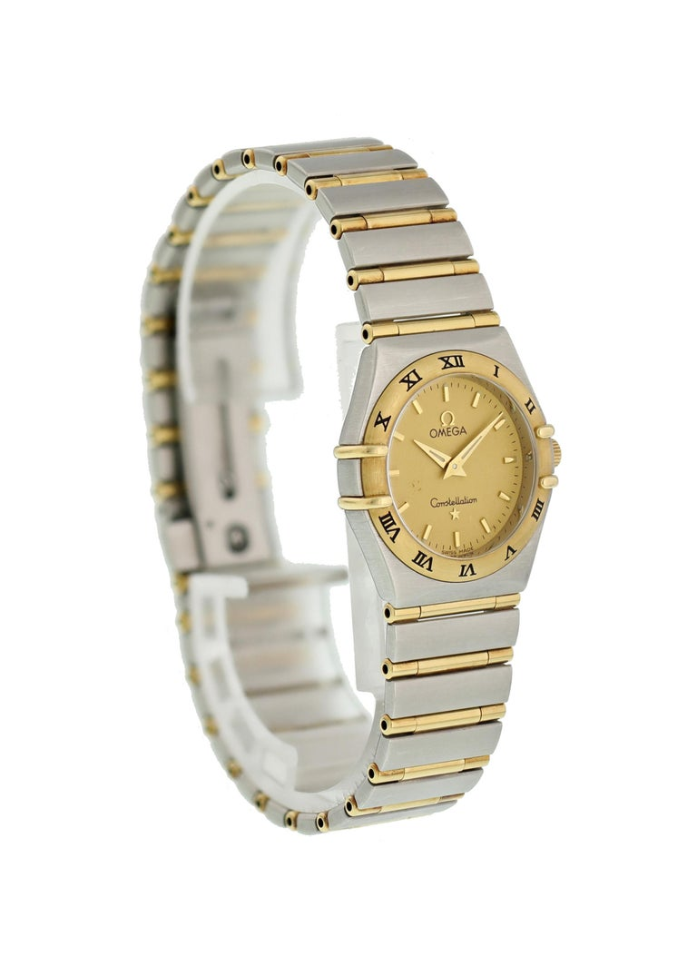 Omega Constellation 1272.10.00 Ladies Watch In Excellent Condition For Sale In New York, NY