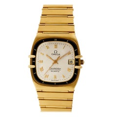 Omega Constellation 1431, Gold Dial, Certified and Warranty