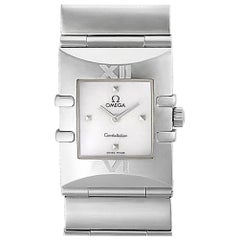 Omega Constellation 1521.71.00, White Dial, Certified and Warranty
