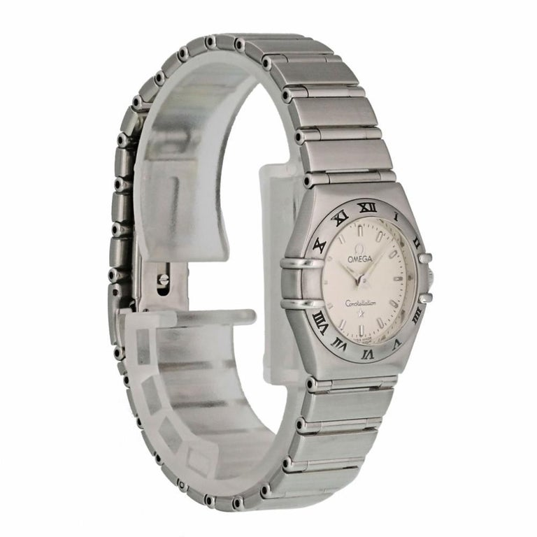 Women's Omega Constellation 1562.30.00, Black Dial, Certified and Warranty For Sale