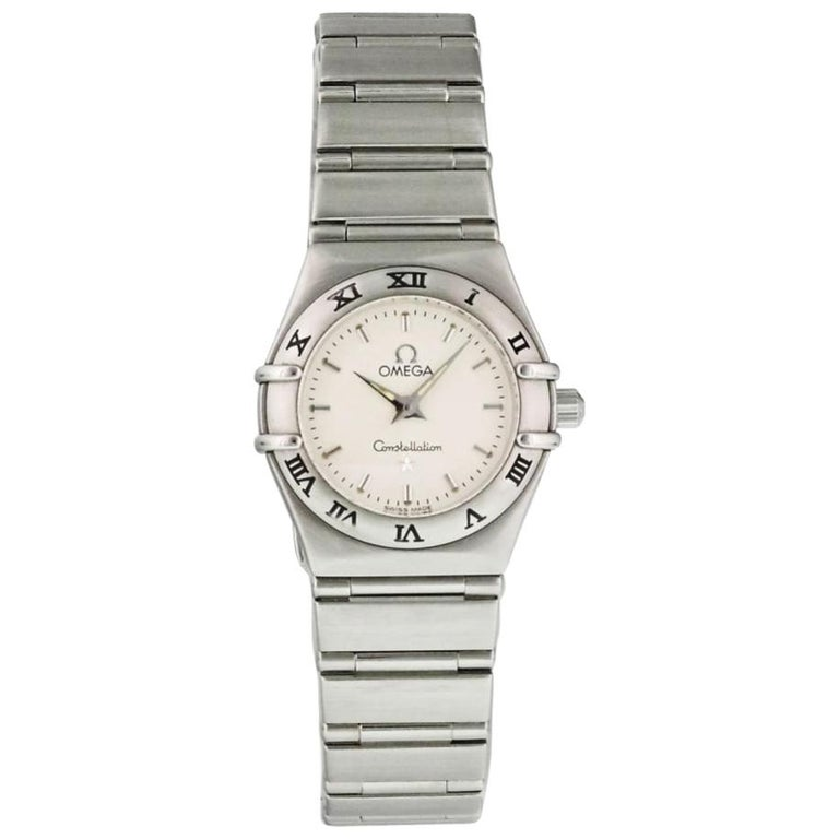 Omega Constellation 1562.30.00, Black Dial, Certified and Warranty For Sale