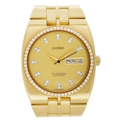 Omega Constellation 1680054, Gold Dial, Certified and Warranty