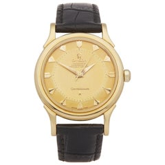 Omega Constellation 18 Karat Yellow Gold