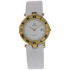 Omega Constellation 18 Karat Yellow Gold Watch