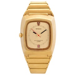 Omega Constellation 196.005, Gold Dial, Certified and Warranty