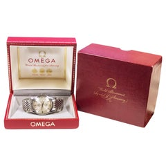 Omega Constellation 1960s Steel Automatic Wristwatch and Original Box